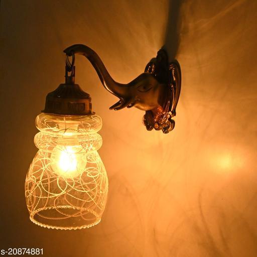 VERMA Elephant Shape Wall Fitting Lamp Light-T5