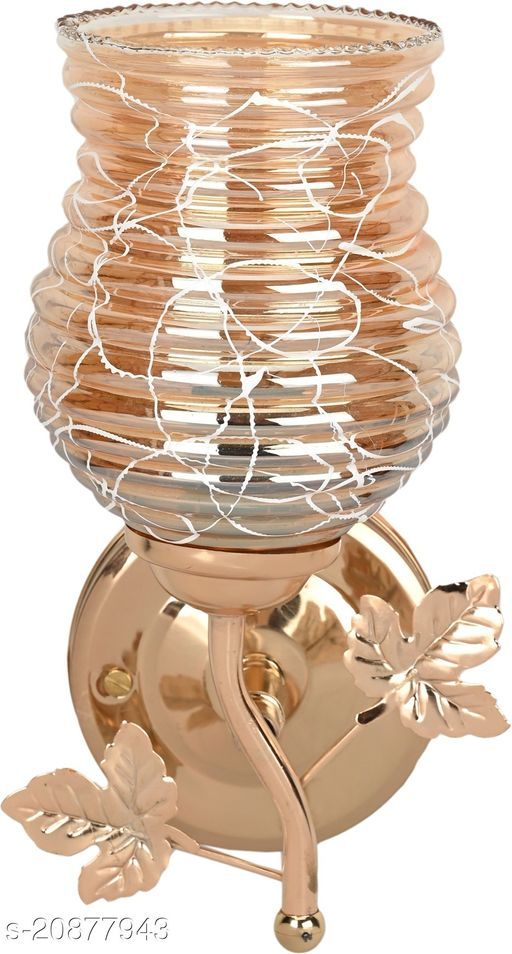 VERMA New Stylish Golden Fitting Wall Lamp Light-P2
