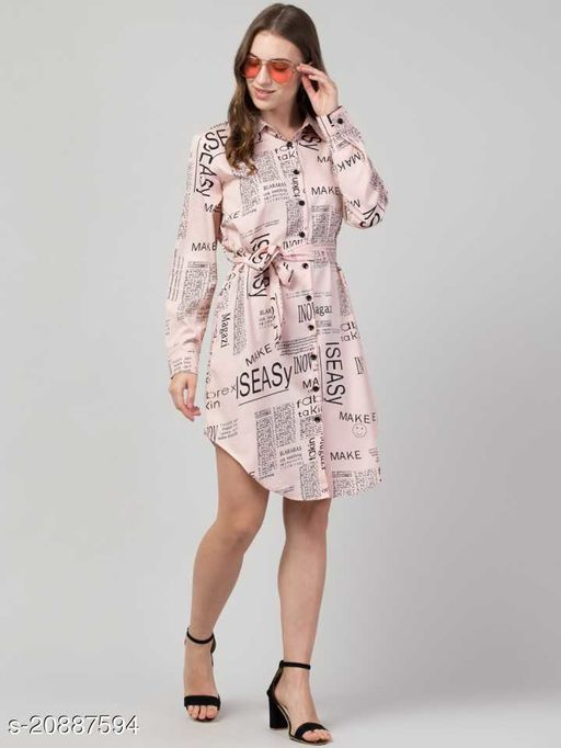 Anaghakart high quality cotton newspaper tunic