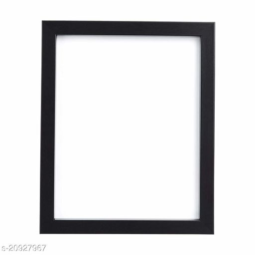 Sharma Framing Fiberboard Photo Frame (12x15, Black)