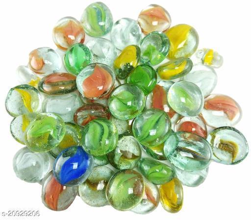 Decorative Glass Pebbles Set of 40 PCS