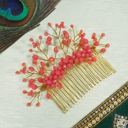 A1 Bhumika Trendz Gold Plated Trendy Hair Clip Combo