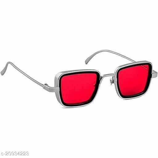 Mens Square UV Protected Celebrity Sunglasses