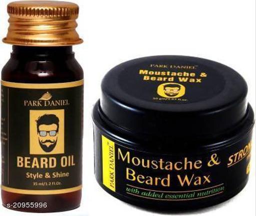 Park Daniel Beard Oil and Beard wax Combo pack( 35 ml & 50 gm) (2 Items in the set)
