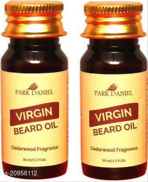 Park Daniel Beard oil Cedarwood Fragrance combo of 2 no.35 ml Bottles Hair Oil (70 ml)
