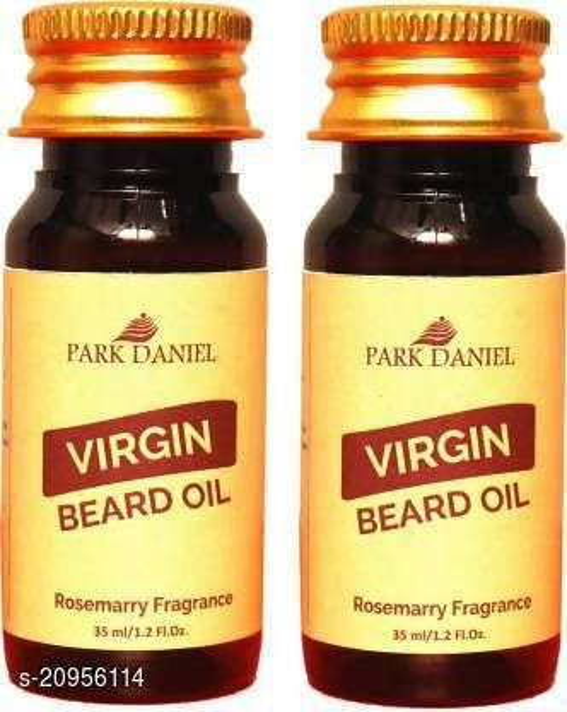 Park Daniel Beard oil Rosemary Fragrance combo of 2 no.35 ml Bottles Hair Oil (70 ml)