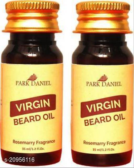 Park Daniel Beard oil Lavender(35 ml) & Rosemary Fragrance(35 ml) combo pack of 2 Bottles Hair Oil (70 ml)