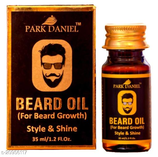 Park Daniel Exclusive Beard Oil(100% Pure & Natural Ingredients) -Suitable for Patchy beard(30 ml) Hair Oil (30 ml)