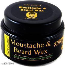 Park Daniel Moustache & Beard Wax(50 gm) Hair Wax (50 g)