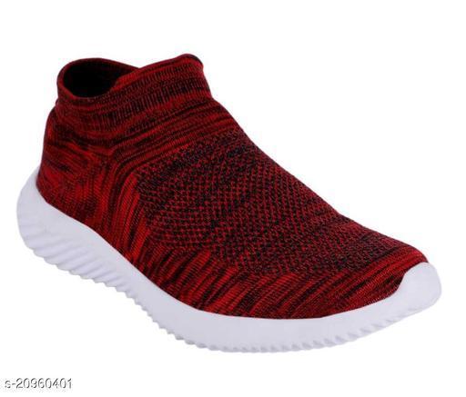 Trendy Men's Maroon Casual Shoes
