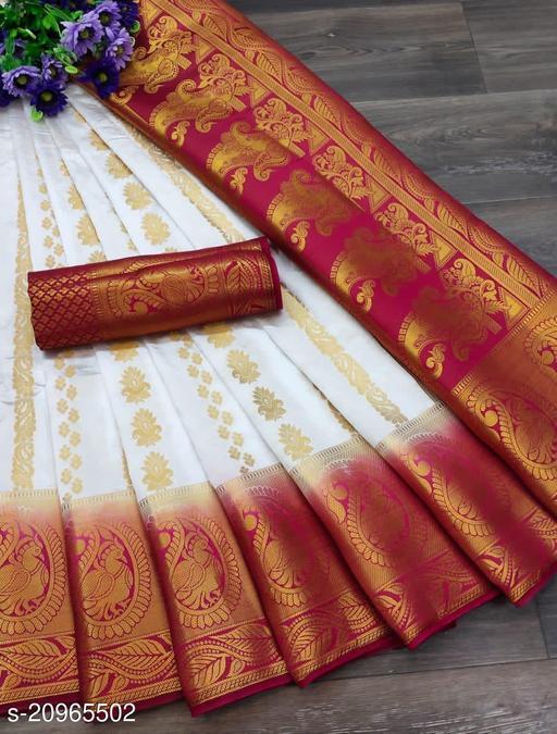 Banarasi Silk Rich palllu saree