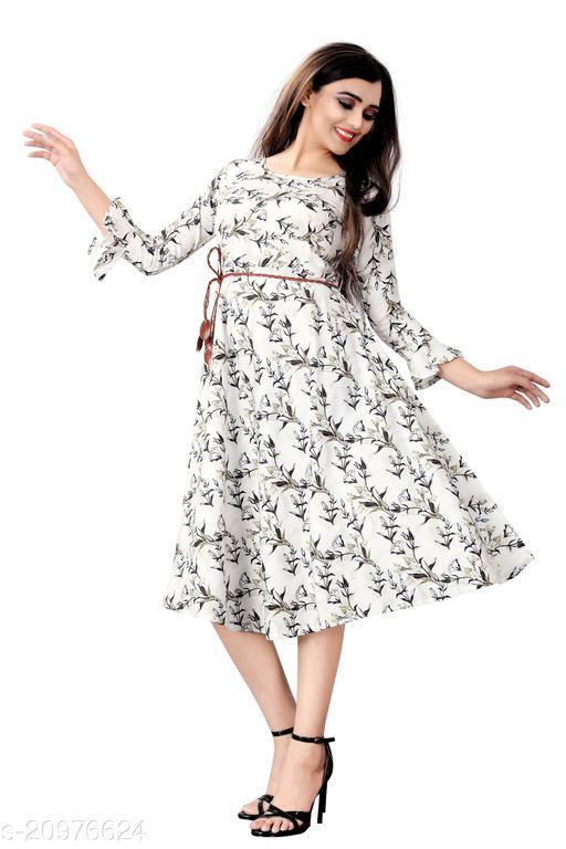 Vihan Designer Beautiful and fair Flared Kurti