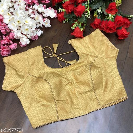 Jacquard fancy blouse