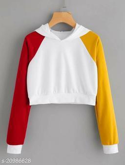 Pretty Crop Sweatshirt