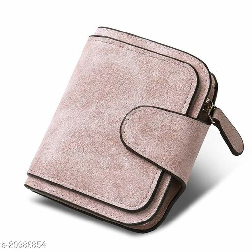 Women's Rose Gold PU Wallet (Rose Gold)