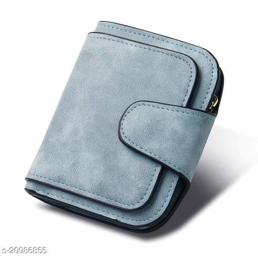 Light Blue PU Women's Wallet (Light Blue)