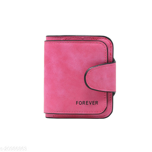 Girls Bi-fold Card Holder Women's Purse Clutch RFID Blocking Wallet