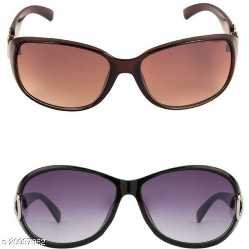 Hipon UV Protection Butterfly Over Sized Sunglasses For Women