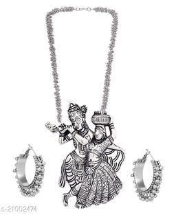 PRASUB Fancy Designer Partywear jewellery set for Girls and Women