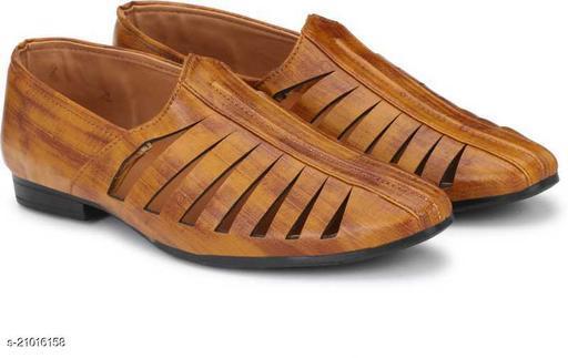 Ovexa  Premium Tan Nagra Shoe For Men And Boys