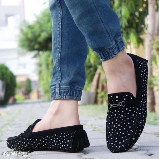 Ovexa  Premium Black Slip On Loafer Shoe For Men And Boys