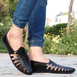 Ovexa  Premium Black Nagra Shoe For Men And Boys