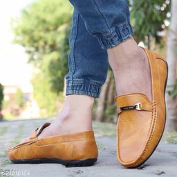 Ovexa  Premium Tan Loafer Shoe For Men And Boys