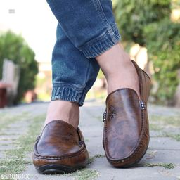 Ovexa  Premium Brown Loafer Shoe For Men And Boys