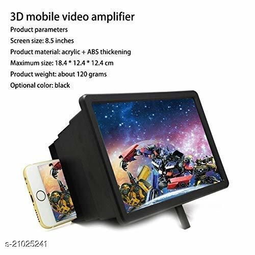 cbc Mobile Phone 3D / Screen Magnifier F2-3D Video Screen Amplifier Eyes Protection Enlarged Expander Support for All Smartphones[Energy-Saving]