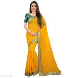 Stylish Chiffon Women's Saree