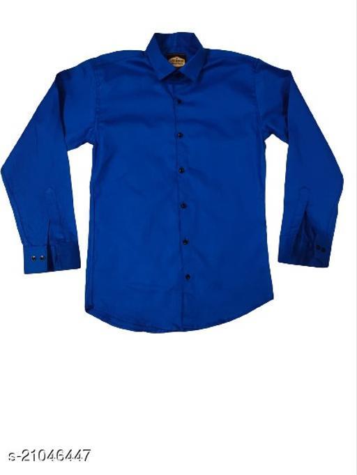 Ultraposh Slimfit Solid Color 100% Cotton Shirts for Men