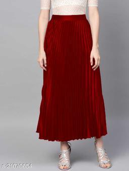 Elegant Unique Women Western Skirts