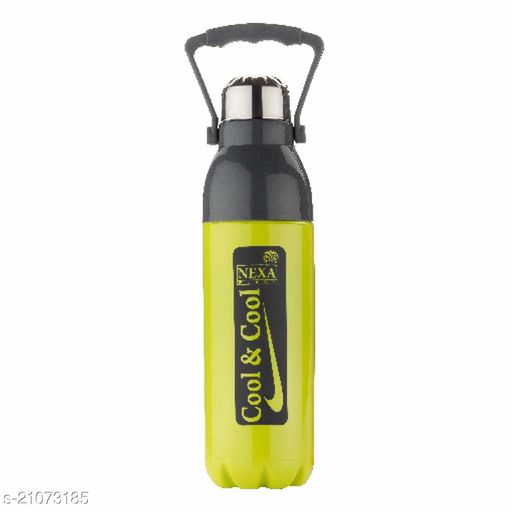 UNICEPT Nexa Plastic Unbreakable Insulated Water Bottle (Colour May Vary,1100 ml,pack of 1)
