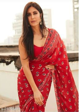Trendy Attractive Cotton Sarees For Women