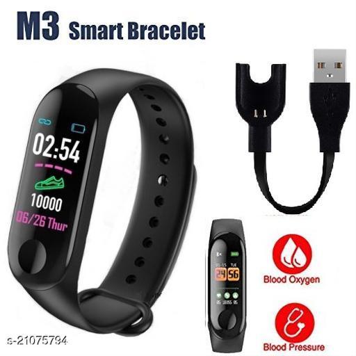 M3 Smart Bracelet Pedometer Heart Rate Monitor Fitness Tracker