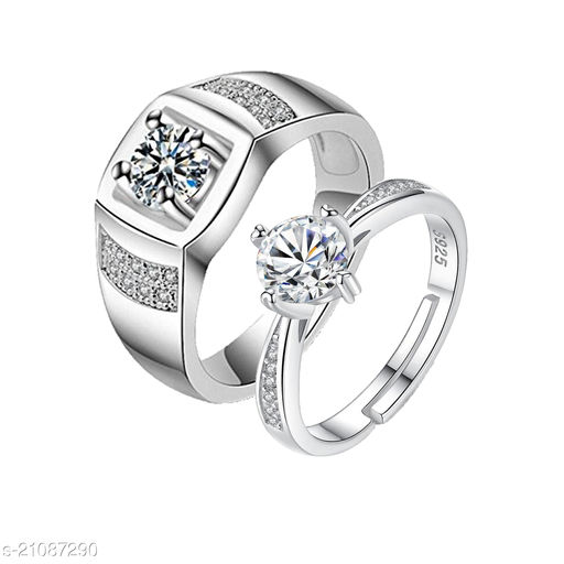 MYKI Queen & King Limited Edition Love Valentine  Couple Rings