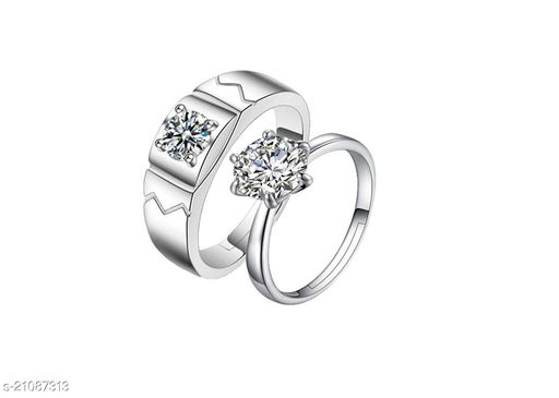MYKI King & Queen Love Forever    Elements Adjustable Couple Rings