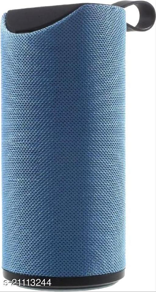 Santop Super Mega Bass  Wireless Portable Splash-Proof Bluetooth Speaker with AUX/FM/SD Card/USB - Blue