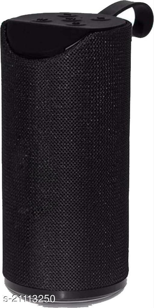 Santop Super Mega Bass  Wireless Portable Splash-Proof Bluetooth Speaker with AUX/FM/SD Card/USB - Black