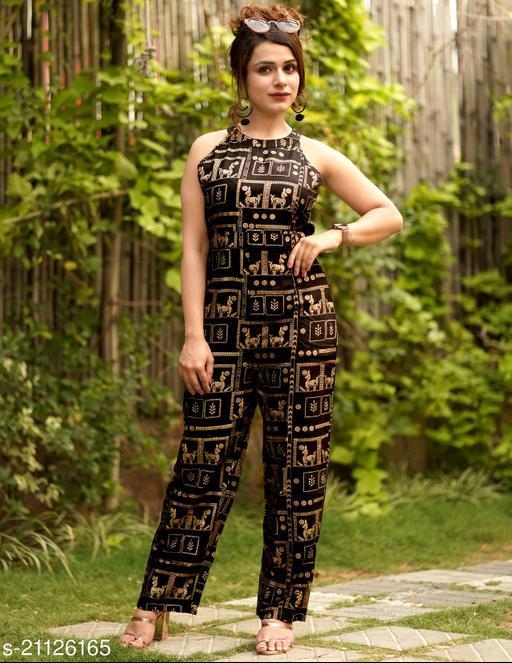 Vijay Mart Party Jump Suit