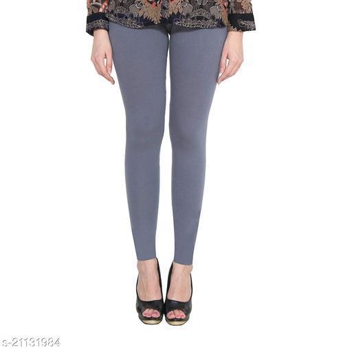 RGS_Women's Slim Fit Leggings(Single)(Grey)