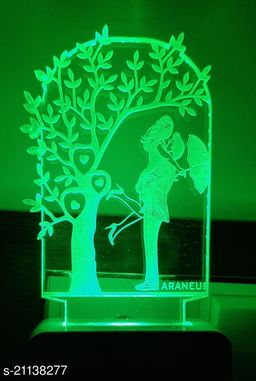 UNICEPT 3D lovely couple Night Lamp with 7 Color Changing Light for Gift,for Bedroom, livingroom