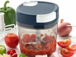 EMPIRE Premium Vegetable Chopper with Whisker Blade (1000 Ml) | Handy and Compact Chopper with 5 Blades for effortlessly Chopping Vegetables and Fruits for Your Kitchen Chopper with Whisker Vegetable & Fruit Chopper  (1)