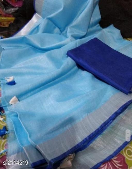 Attractive Cotton Slub Women's Saree