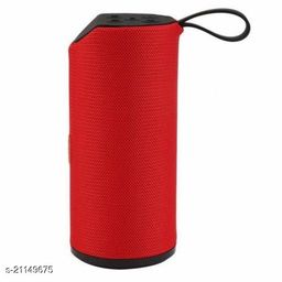 TG-113 Portable Sound with HD Premium Clear Sound Quality and Double Bass USB Port/TF Card/Aux 15 W Bluetooth Speaker  (Red, Stereo Channel)