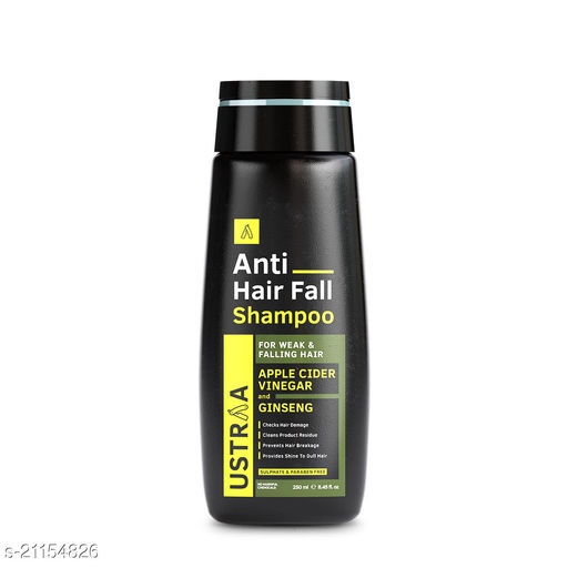 Ustraa Anti Hair Fall with Apple Cider Vinegar Shampoo, 250ml