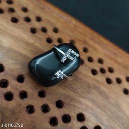 alphabat latter dimond ring free size