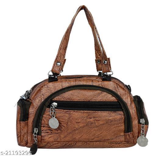 Lehrua Women Brown Mini Messenger Bag Sixe (24.5x14.3x5.5) CM