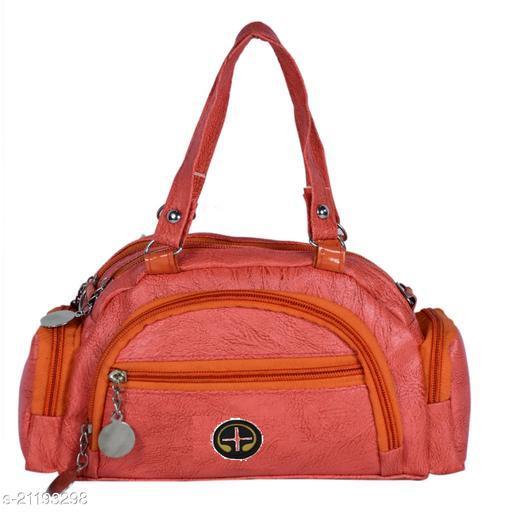 Lehrua Women Orange Mini Messenger Bag Sixe (24.5x14.3x5.5) CM