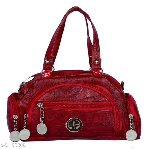 Lehrua Women Red Mini Messenger Bag Sixe (24.5x14.3x5.5) CM